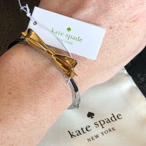 Kate Spade NWT Gold & Silver Love Notes Bracelet